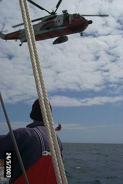 SAR Helicopter exercise